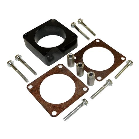 jeep throttle spacer rt35008 throttle spacer kit 2 5l 4 0l wrangler