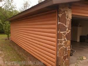 Garage Shop Design Ideas faux log siding ideas home improvement pictures to inspire