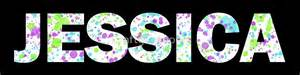 Paint Stickers For Wall quot jessica paint splatter name white background quot by