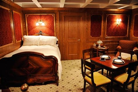 Titanic 1st Class Bedrooms by Titanic Exhibition At The O2 In Artefacts Recovered From The Ill Fated Ship Go On Show