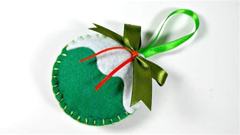 decorar bolas de navidad con fieltro ideas de navidad 5 bolas de fieltro para el 225 rbol youtube