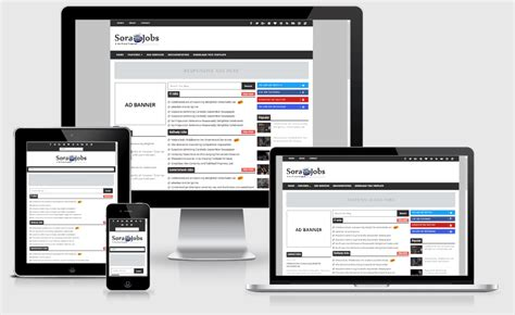 blogger templates for jobs way templates best blogger free responsive templates