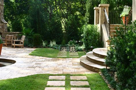 italian villa traditional patio atlanta by