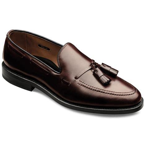 allen edmonds slippers cordovan grayson moc toe slip on loafer s dress
