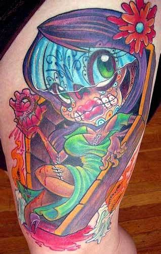new school zombie girl tattoo 14 best images about zombie tat on pinterest zombie