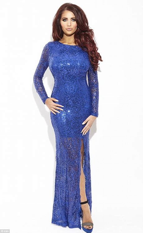 Ideas for christmas party season with her sparkly new dress collection
