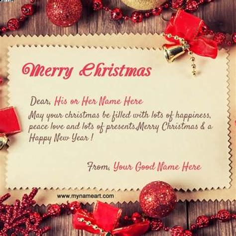 beautiful merry christmas  greeting ideas