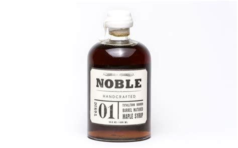 Noble Handcrafted Maple Syrup - thanksgiving gift ideas travel leisure