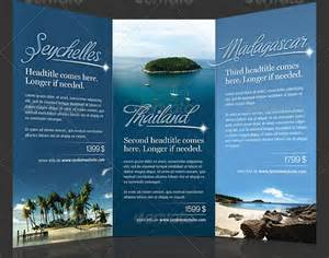 Travel Brochure Design Templates by 25 Best Ideas About Travel Brochure Template On