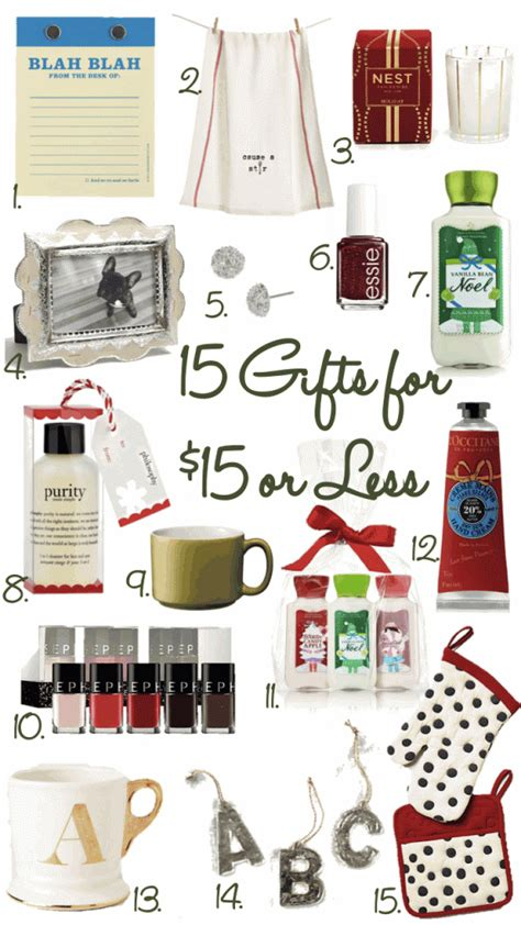 christmas exchange undee 15 15 gifts 15 great gift ideas for coworkers santa etc gift ideas