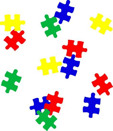 rainbow puzzle free autism rainbow puzzle piece clipart clipart best