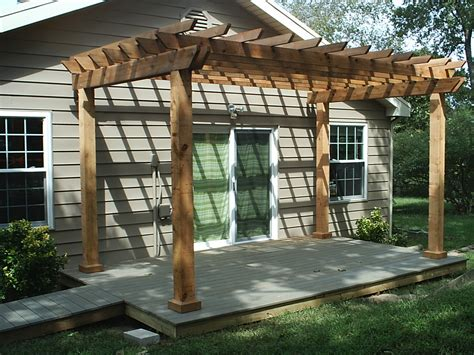 Pergola And Deck Plans Joy Studio Design Gallery Best Decks With Pergolas