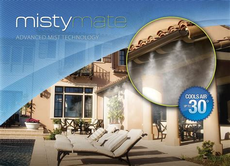 Mate Cool Patio by Mate Cool Patio 30 Foot Home Misting System