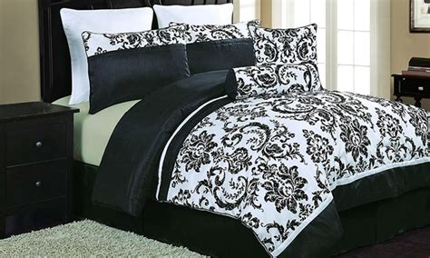 8 piece comforter sets groupon goods