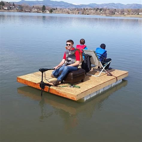 fast homemade boat diy pontoon boat the prepared page