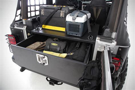 Jeep Storage Jeep Storage Vault By Smittybilt Hiconsumption