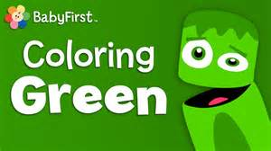 crew colors babyfirsttv color crew green learn colors color