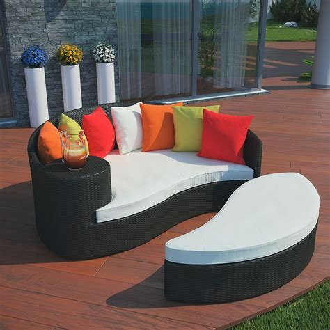 Outdoor Patio Daybed Daybed Outdoor Furniture Reviews And Information Outsidemodern