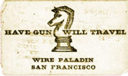 gun will travel