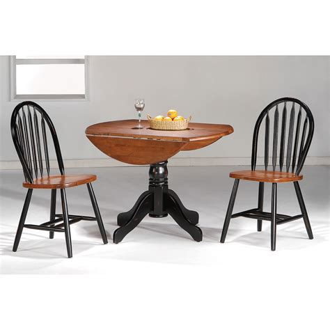 3 piece dining room sets hazelwood home 3 piece dining set reviews wayfair