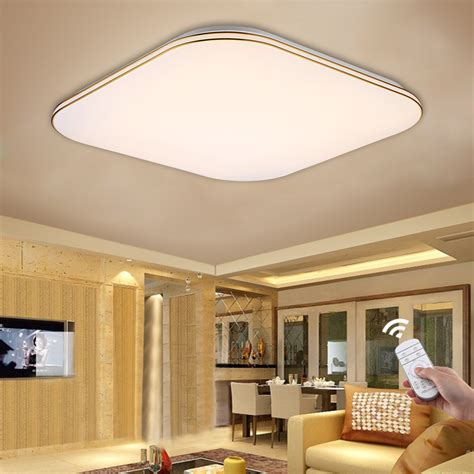Led Lights Kitchen Ceiling Bright 36w Led Ceiling Light Flush Mount Kitchen Bathroom Dimmable Square Ebay