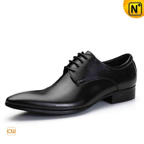black italian leather oxford shoes for cw762012