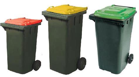 Household Trash Compactor 3 refuse bins clipart clipground