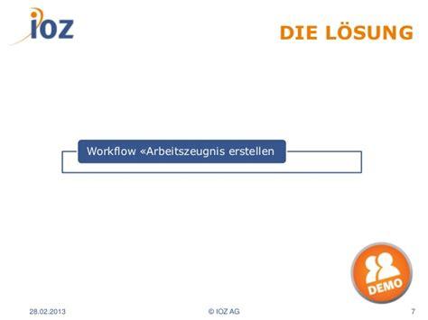 workflow ar sharepoint workflow f 252 r die erstellung arbeitszeugnissen