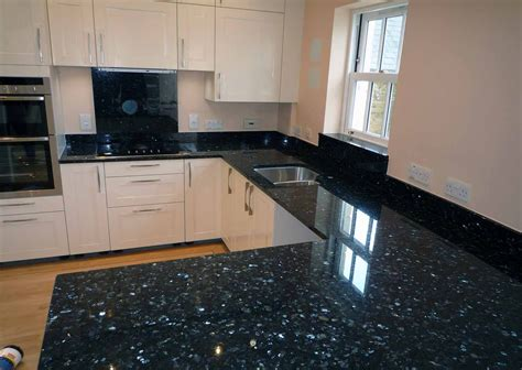 Black Granite Countertop by Black Pearl Granite
