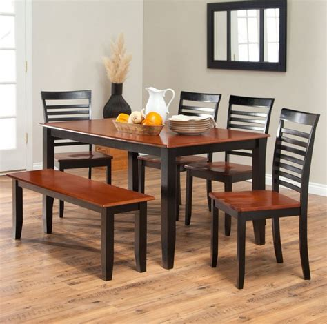 Cherry Wood Kitchen Table And Chairs by 17 Best Ideas About Dining Table With Bench On