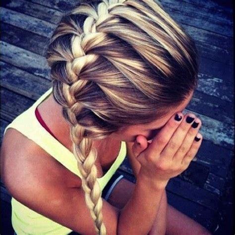how to braid across back of head french braid across head yay pinterest