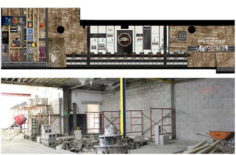 Fulton Tap Room by Goose Island S Fulton Brewery To Add Tours Tasting