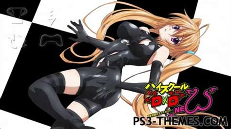 ps4 themes for high school dxd ps3 themes 187 high school dxd born slideshow