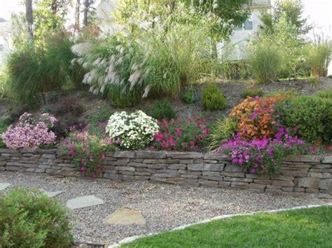 Landscaping Ideas Virginia Steinmauer Im Garten Hangbefestigung Die Sicht