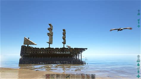 ark game boat ark survival evolved pirate ship s2e1 youtube