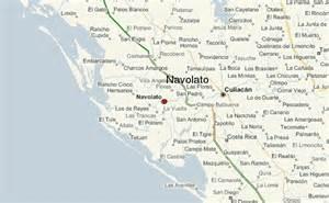 Sinaloa Mexico Map by Navolato Location Guide