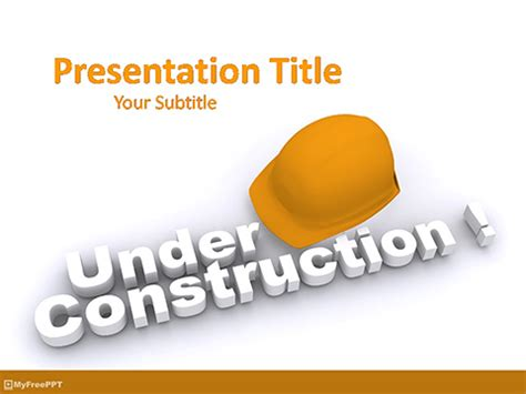 construction ppt themes free download construction powerpoint template k ts info