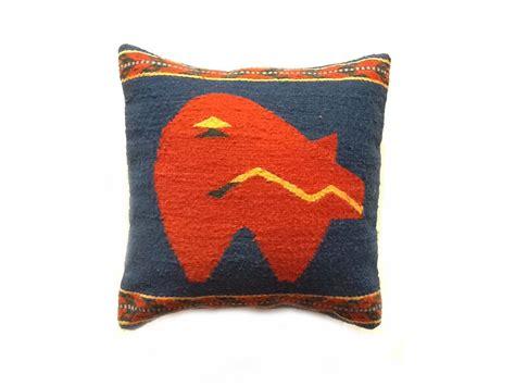 Zapotec Pillows by Zuni Pillow Zapotec Weaving From Oaxaca Mexico