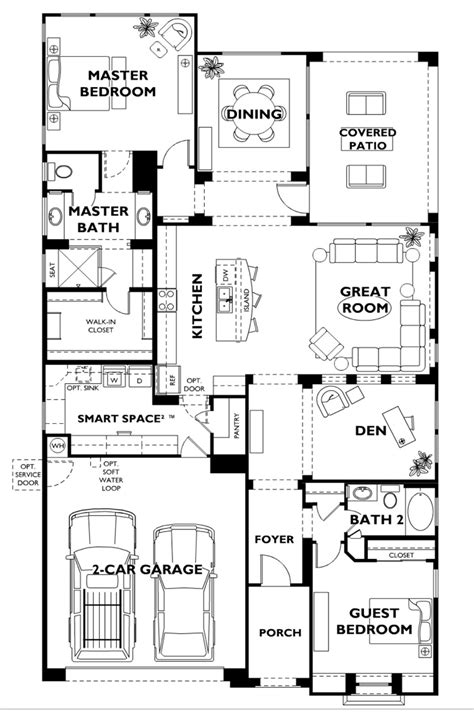 nice house floor plans trilogy at vistancia nice model floor plan