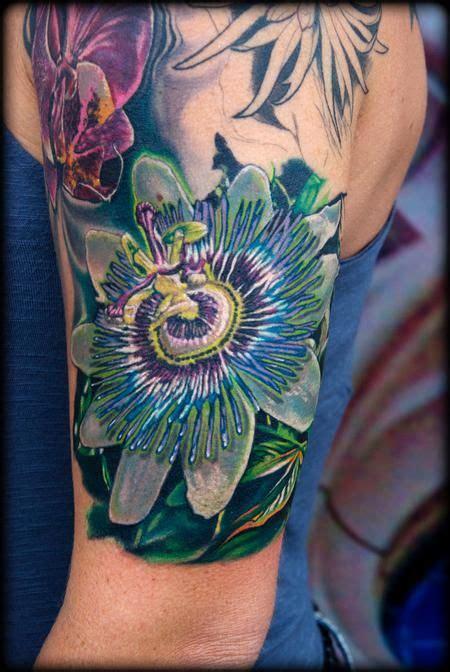 passion tattoos designs flower