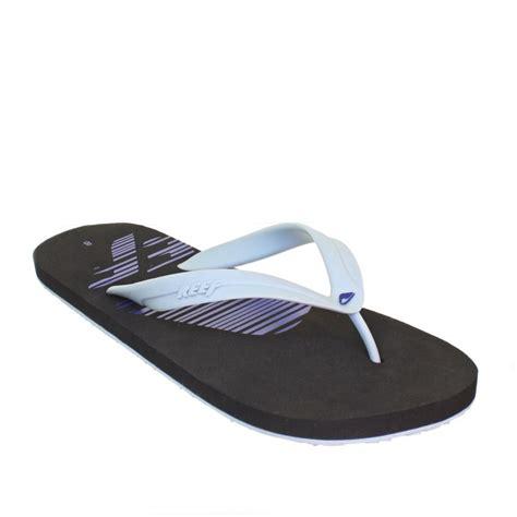12 Flip Flops by Mens Reef Pulse Flip Flops Black Grey Blue Rubber