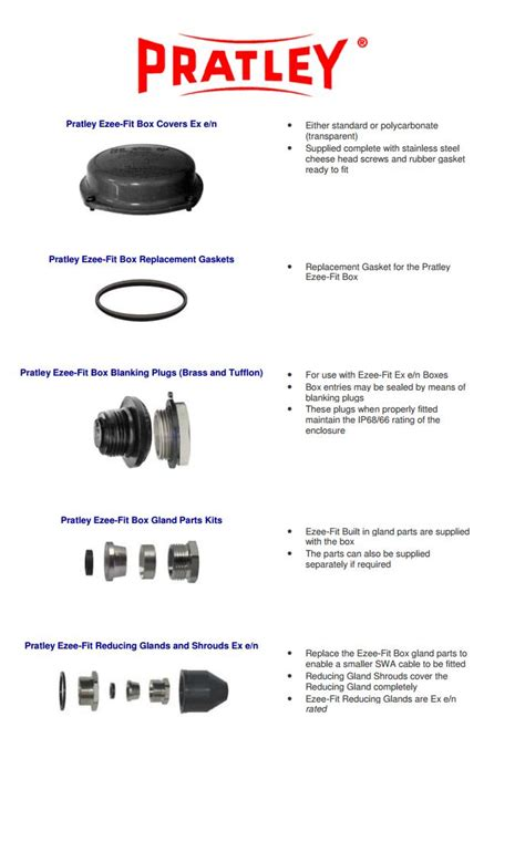 Electrical Accessories pratley electrical electrical junction boxes and accessories