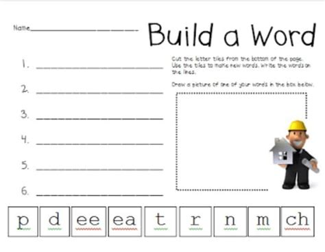 word pattern activities 98 first grade friendly teaching ideas teach junkie