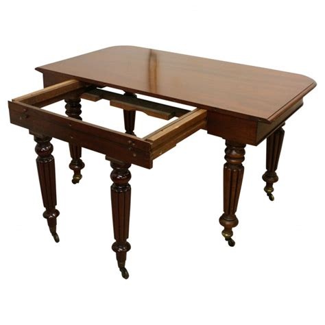 william iv mahogany dining table georgian antiques