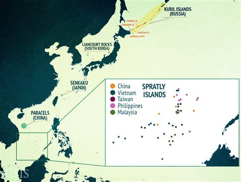 sea islands map why the south china sea is so crucial business insider