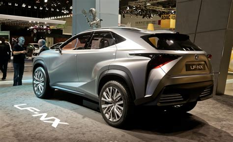 lexus crossover lexus lf nx concept new crossover hybrid concept autos post
