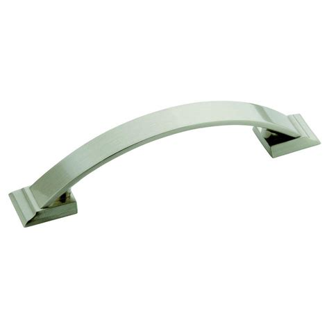 metal edge cabinet hardware pull richelieu hardware 33 mm satin nickel contemporary metal