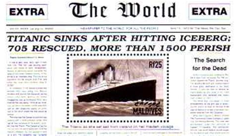 Titanic Sinks Newspaper by The Mystery Ship Did A Mystery Ship Lie Between The