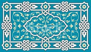Multi Colored Flowers - floral arabic ornament stock photos freeimages com