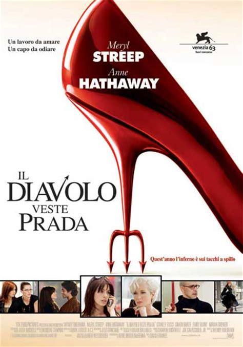 The Devil Wears Prada 2006 Film Poster Il Diavolo Veste Prada